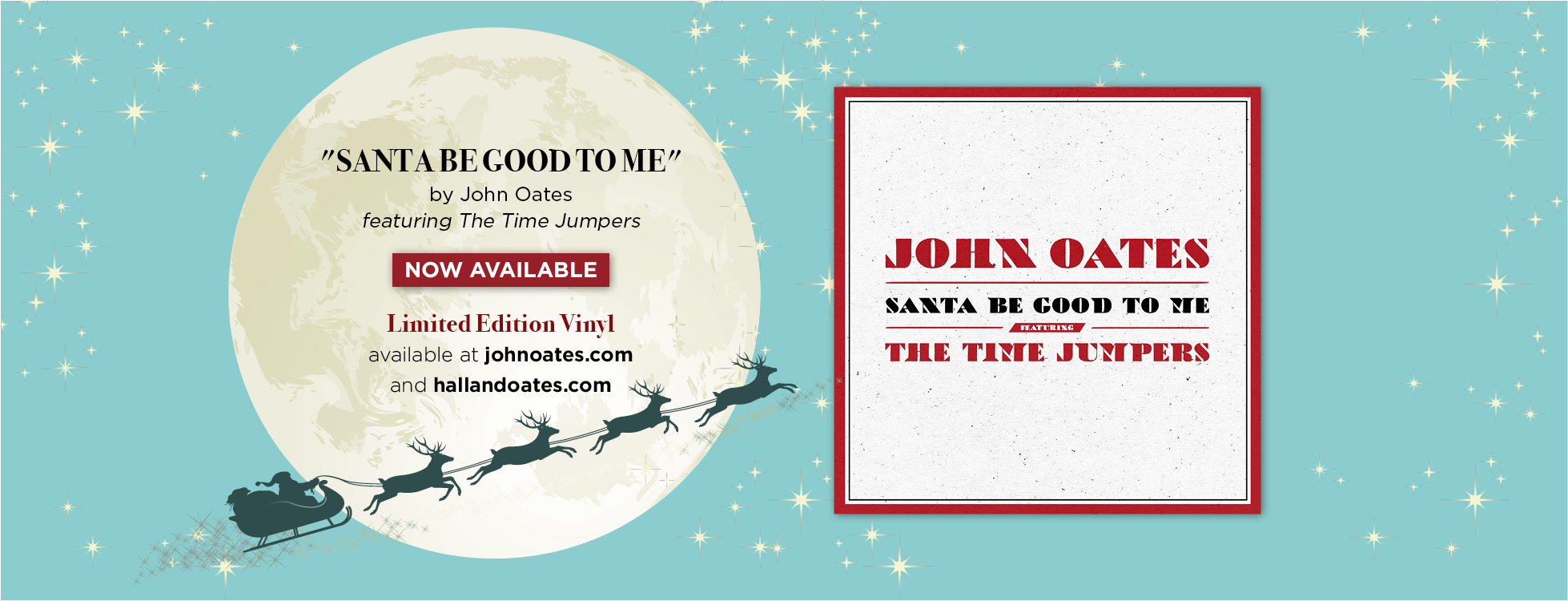 John Oates Releases New Holiday Single Santa Be Good To Me
